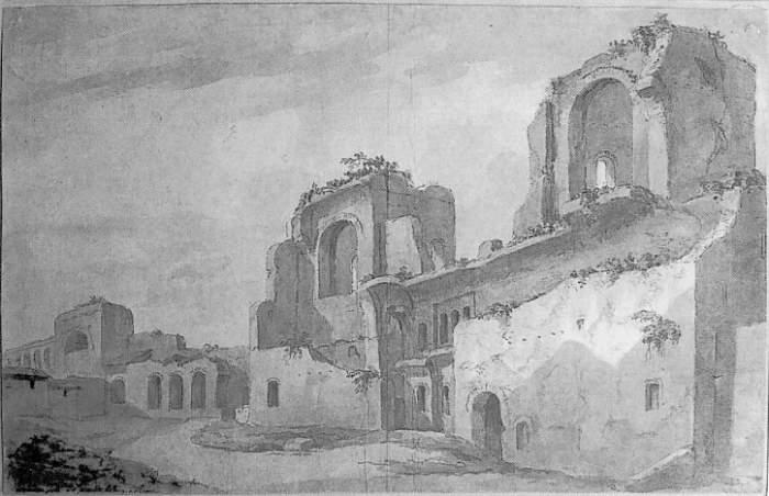 Charles-Louis-CLERISSEAU-ANCIENNE-PORTE-DE-SAINT-JEAN-DE-LATRAN-A-ROME