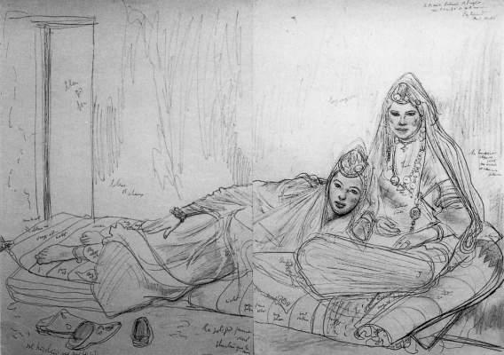 EDY-LEGRAND - DEUX FEMMES MAROCAINES