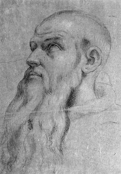 Giovanni Battista TONNA - TETE D'UN RELIGIEUX