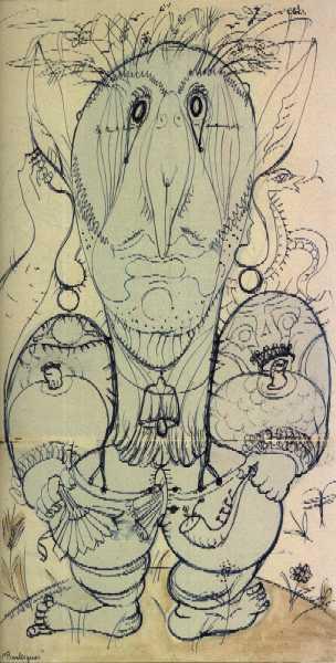 Henry de WAROQUIER - Burlesques