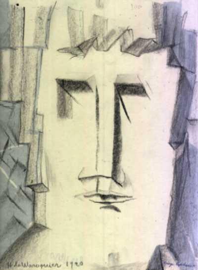 Henry de WAROQUIER - Cubisme géologique