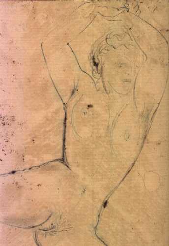 Henry de WAROQUIER - Femme nue