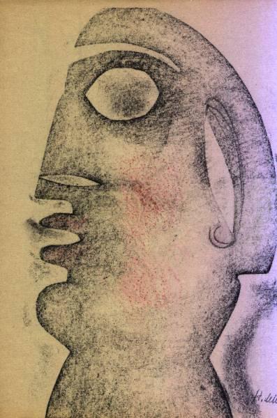 Henry de WAROQUIER - Visage primitif