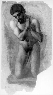 Jean-Baptiste Frenet - LE CHRIST AGENOUILLE