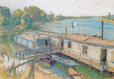 Lucien OTT - Bord de Seine à Villeneuve Saint-Georges