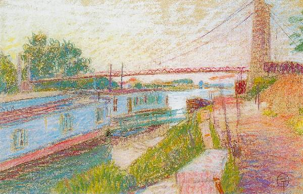 Lucien OTT - Bord de Seine