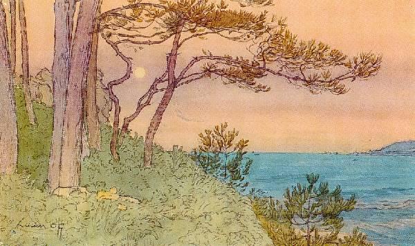 Lucien OTT - Paysage de Bretagne