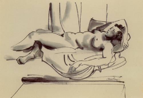 Luis Vidal Molné - Femme nue