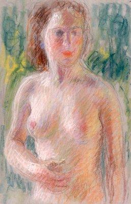 Pierre THEVENIN - FEMME NUE
