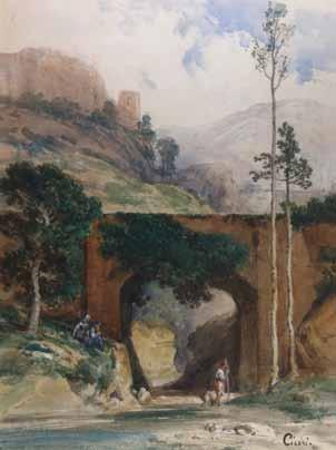 CICERI Eugène - PAYSAGE A LA RIVIERE