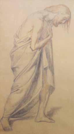 FLANDRIN Paul - ETUDE POUR LE BAPTEME DU CHRIST