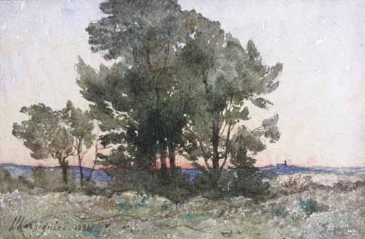 HARPIGNIES Henri Joseph - PAYSAGE