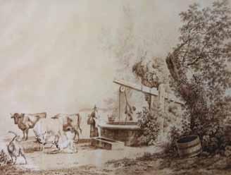 LA RIVE Pierre Louis de - SCÈNES PAYSANNES