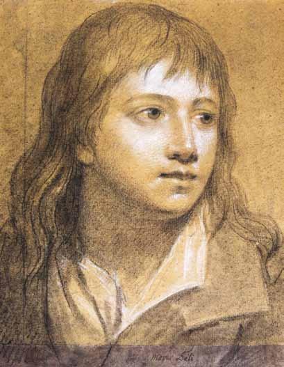 MAYER Marie Françoise Constance - PORTRAIT DE JEUNE GARCON