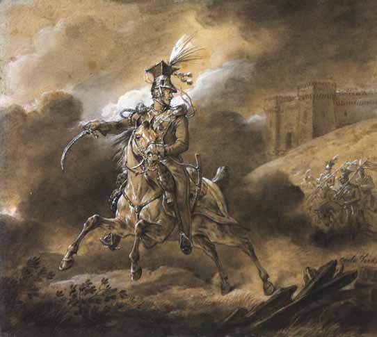 VERNET Antoine Charles Horace - CAVALIER DE L'EMPIRE