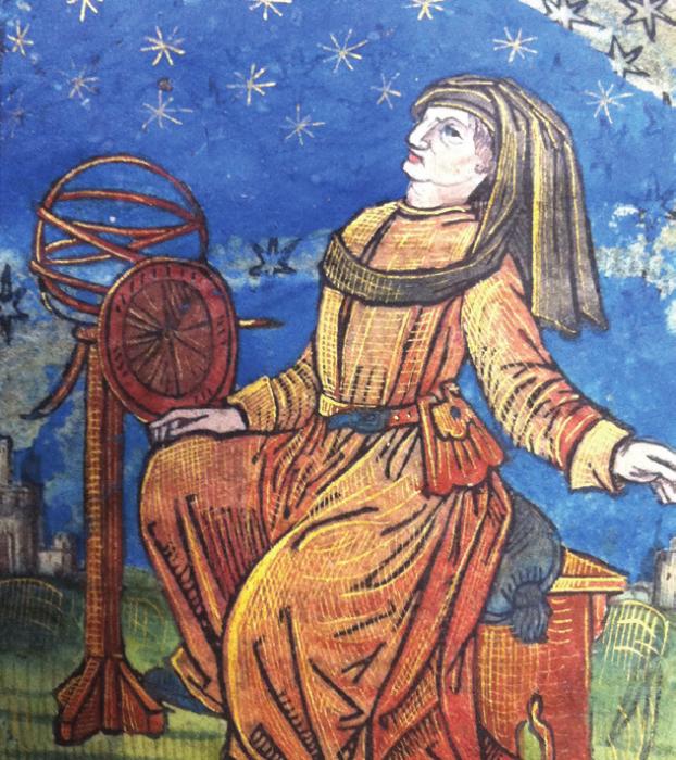 ECOLE FRANCAISE - L'ASTRONOME