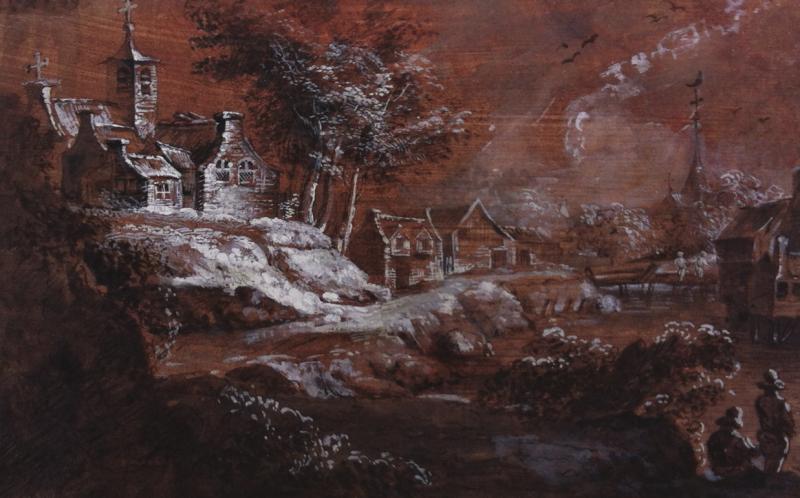 Franz Edmund WEIROTTER - PAYSAGE ANIMÉ
