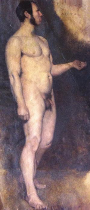 Hippolyte FLANDRIN - ACADÉMIE D'HOMME