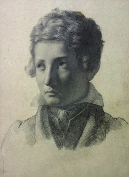 Jean-Louis LACURIA - PORTRAIT DE JEUNE HOMME