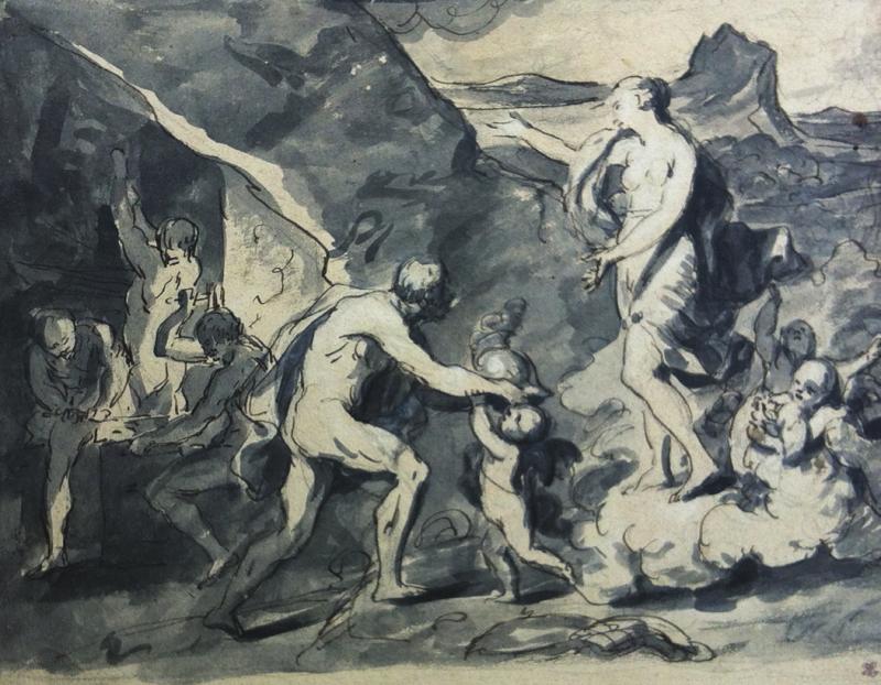 Joseph-François PARROCEL - VÉNUS ET VULCAIN