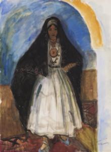 BOUVIOLLE Maurice - Femme orientale