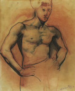 DELMOTTE Marcel - Académie d'homme