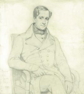FLANDRIN Hippolyte - Portrait d'Alexis de Jussieu