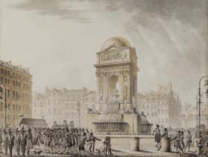 FONTAINE Pierre François Léonard - LA FONTAINE DES INNOCENTS