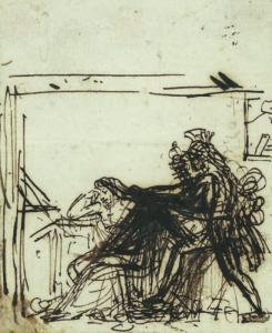 GIRODET-TRIOSON Anne Louis - Scène mythologique