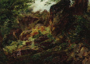 GIROUX André - PAYSAGE, La Forêt