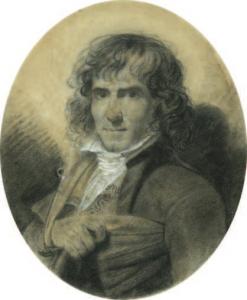ISABEY Jean-Baptiste - PORTRAIT DU SCULPTEUR JOSEPH CHINARD