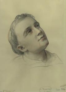 JANMOT Louis - Tête d'un saint
