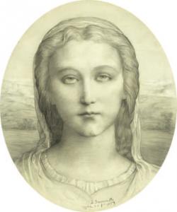 JANMOT Louis - Tête de femme