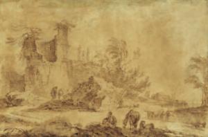 PALMIERI Pietro - PAYSAGE ITALIEN