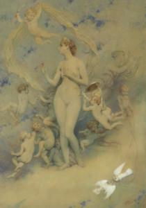 POLLET Victor - Vénus au miroir