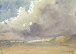 VIGNAL Pierre - Une plage en Normandie