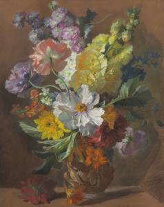DUPASQUIER Joseph-Auguste - FLEURS