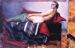 WAROQUIER Henry De - NU AU DIVAN