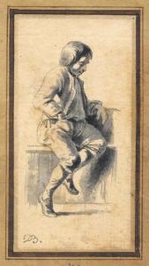 BOISSIEU Jean-Jacques de - PORTRAIT D'UN JEUNE GARÇON