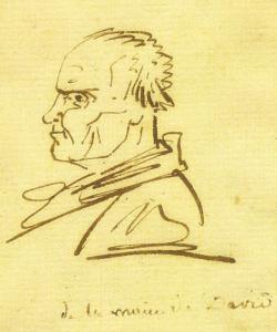 DAVID Jacques Louis - PORTRAIT PRÉSUMÉ DE MICHEL GÉRARD, DIT LE PÈRE GÉRARD