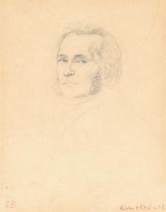 DELACROIX Ferdinand Victor Eugène - PORTRAIT DE FRÉDÉRIC LEBLOND
