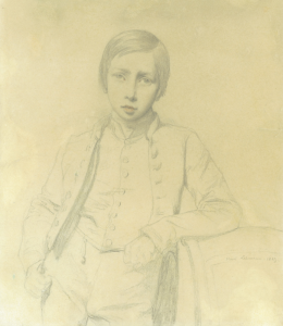 LEHMANN Henri - PORTRAIT D'UN JEUNE GARÇON