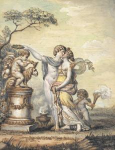 MOITTE Alexandre - ALLÉGORIE DE L'AMOUR
