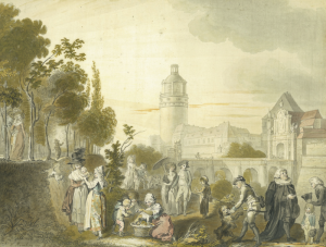 RAMBERG Johann Heinrich - SCÈNE GALANTE