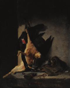 ROUSSEAU Philippe - NATURE MORTE AUX GIBIERS