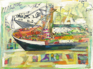 FIRPO Walter - Deux bateaux n°8