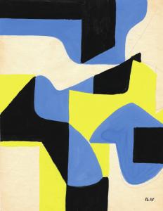 Iliu Joseph - Composition Abstraite n° 1