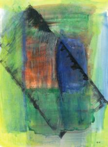 Iliu Joseph - Composition Abstraite n° 17