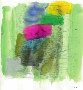 Iliu Joseph - Composition Abstraite n° 29