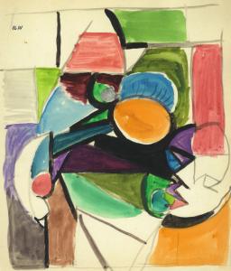 Iliu Joseph - Masque n° 9